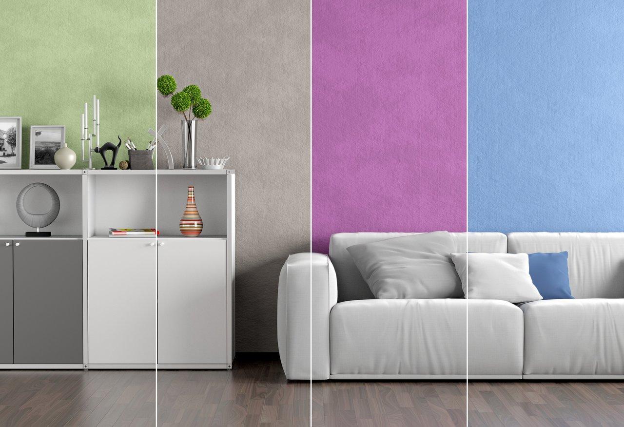 Farben an der Wand - für jede Stimmung den richtigen Ton ...